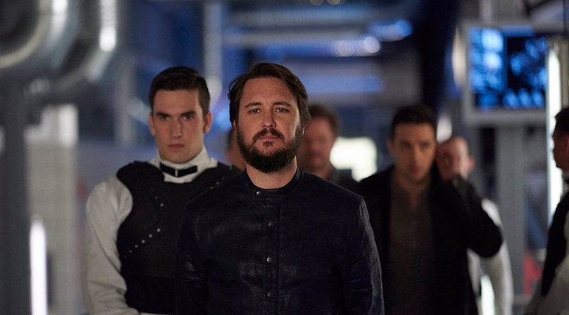 Star Trek TNG's Will Wheaton as he appears in Joseph Mallozzi's Dark Matter.