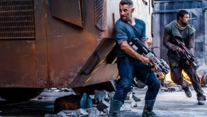 """Axe Wild Boys will you?"" Daniel Macpherson takes aim in the dystopian future thriller SFv1"