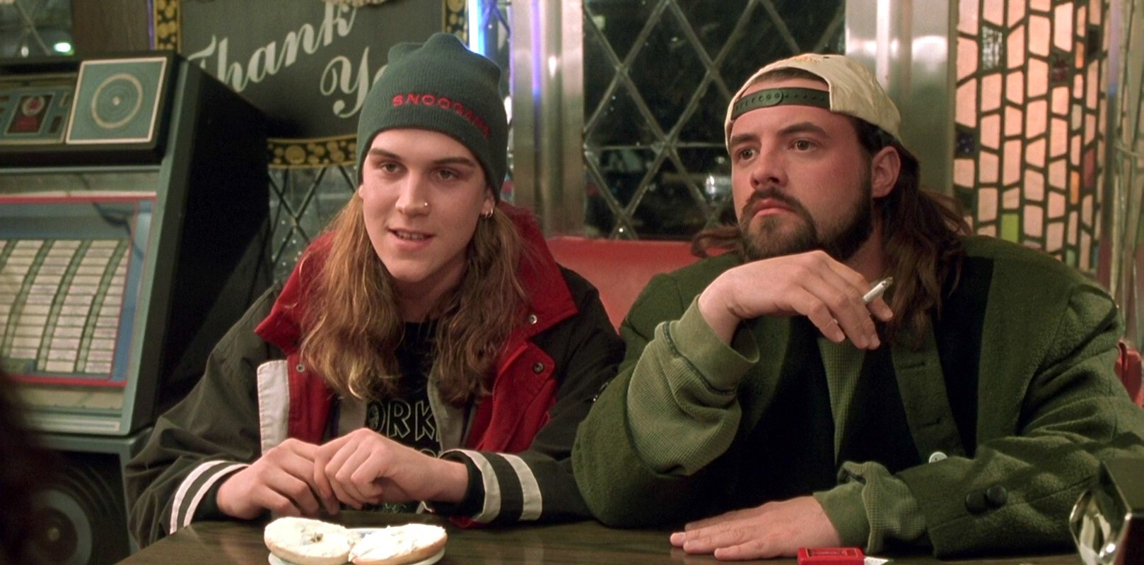 Jason Mewes and Kevin Smith.