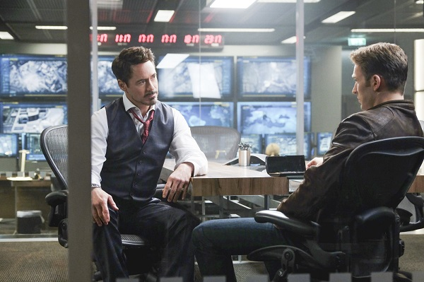 Robert Downey Jr. & Chris Evans
