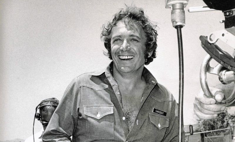 Director Joseph Sargent on location. Sargent, an actor turned Emmy-winning director, died Monday in Malibu. He was 89.