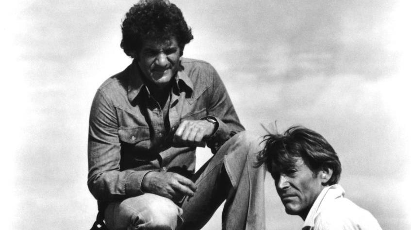THE STUNT MAN, director Richard Rush, (top), Peter O'Toole, 1980, TM & Copyright ©20th Century Fox Film Corp