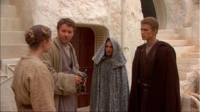 Joel Edgerton in Star Wars: Episode II