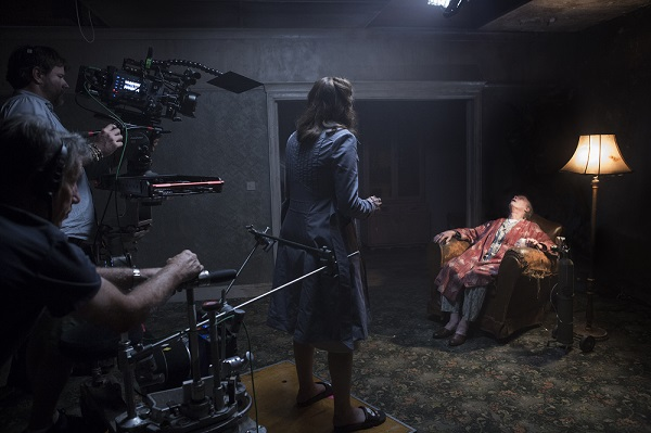 On the set of The Conjuring 2