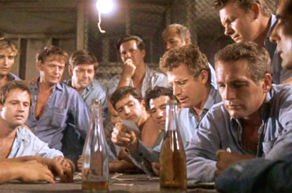 Paul Newman and co in Cool Hand Luke