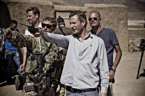 Tobias Lindholm directing A War