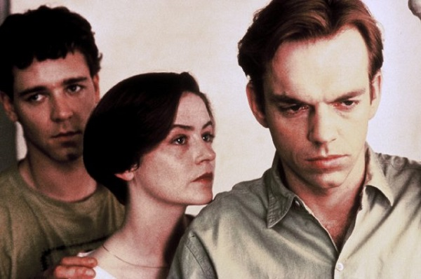Russell Crowe, Genevieve Picot, and Hugo Weaving in Proof