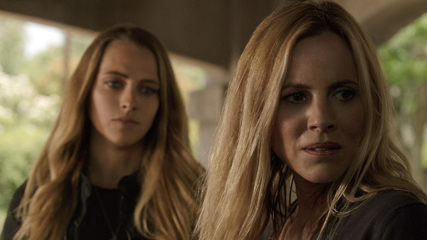 Teresa Palmer and Maria Bello in Lights Out