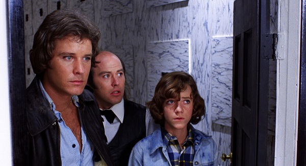 Bill Thornbury, Reggie Bannister, and A. Michael Baldwin in Phantasm