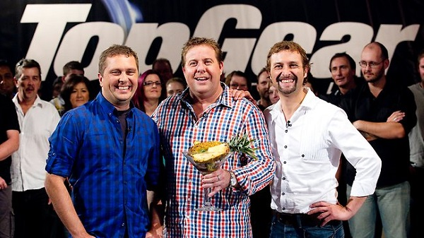 Shane Jacobson hosting Top Gear Australia