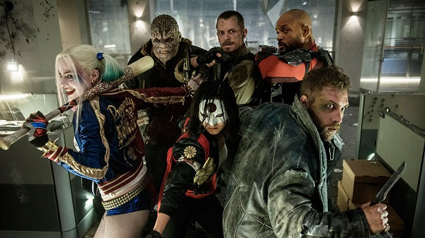 The Suicide Squad in action