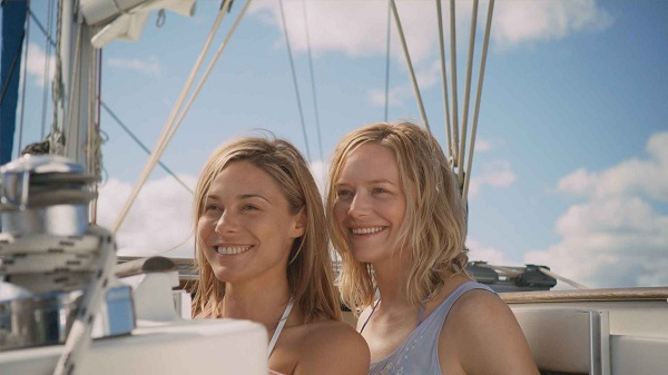 Zoe Naylor and Adrienne Pickering in The Reef