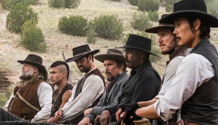 The Magnificent Seven mount up...