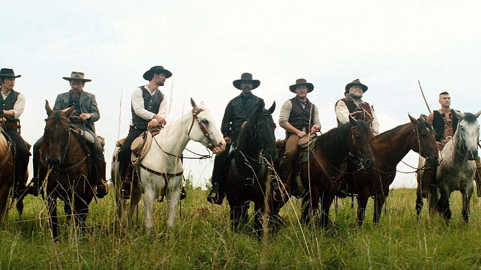 The racially diverse Magnificent Seven