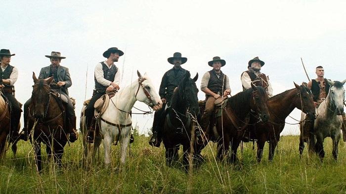 The Magnificent Seven ride...