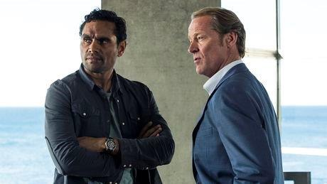 Rob Collins and Iain Glen in Episode 5 of Cleverman