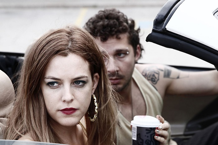 Riley Keough and Shia LaBeouf in American Honey