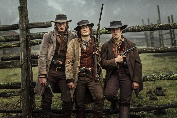 Jack Martin, Jamie Ciaffa, and William Lee in The Legend Of Ben Hall
