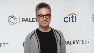 """Alex Kurtzman arrives at PALEYFEST 2014 - """"Sleepy Hollow"""" on Wednesday, Marh 19, 2014 in Los Angeles, Calif. (Photo by Annie I. Bang /Invision/AP)"""