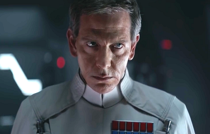 Ben Mendelsohn in Rogue One: A Star Wars Story