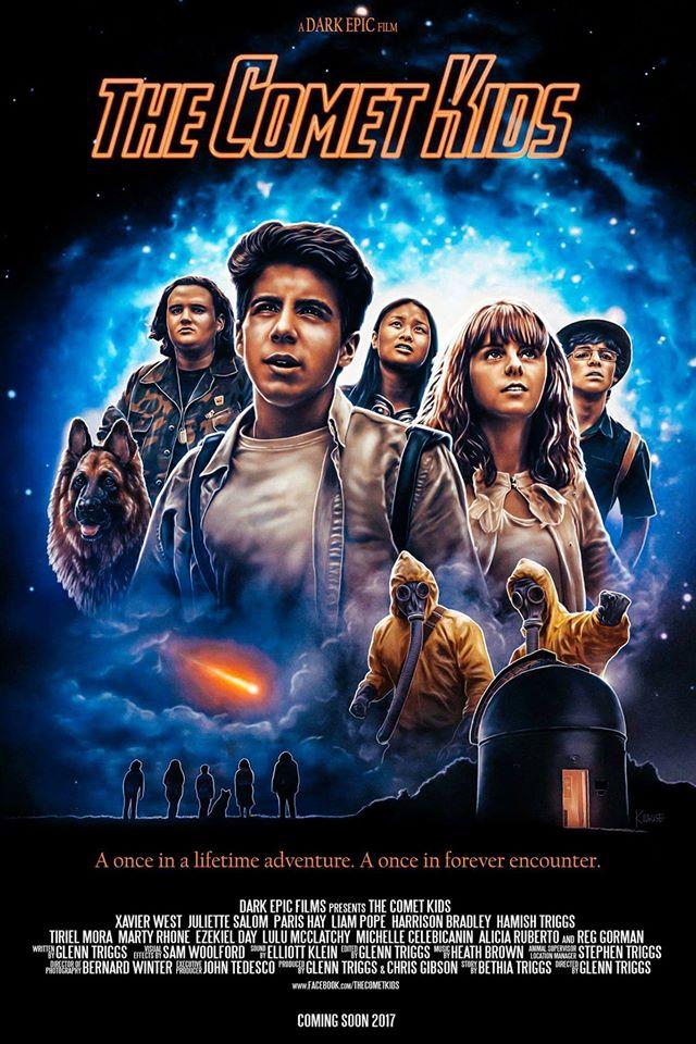 comet kids poster