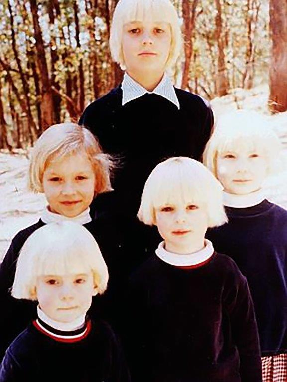 The-Family_five-of-the-blond-boys-raised-at-Lake-Eildon
