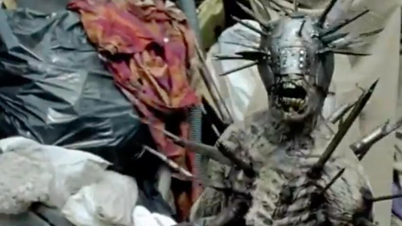 walking dead spike zombie