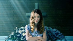 Emily Browning as Laura Moon in American Gods