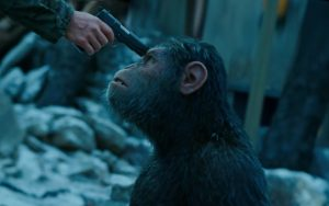Woody and Caesar are Face to Face in the New <em>War for the Planet of the Apes</em> Clip