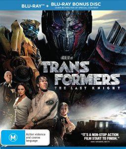 Win <em>Transformers: The Last Knight</em> On Blu-ray