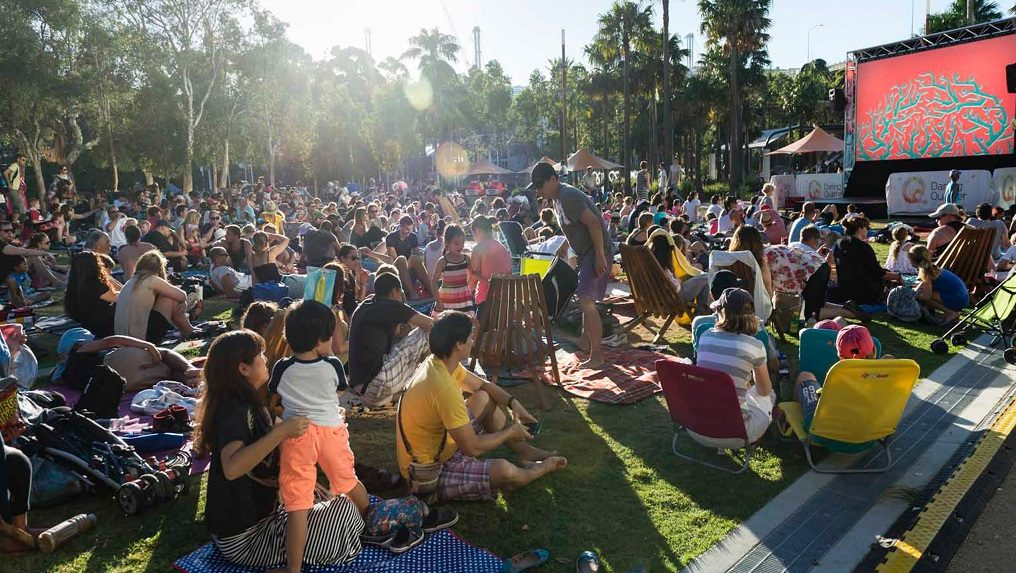 Free Family Flicks and Summertime Cinema at Darling Harbour