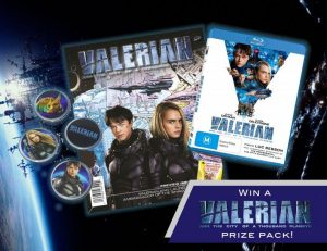 Win a <em>Valerian and the City of a Thousand Planets</em> Prize Pack