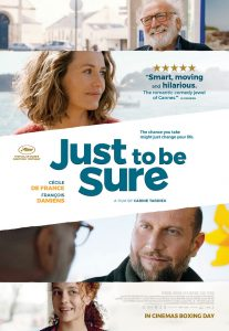Win Tickets to an Advance Screening of <em>Just to Be Sure</em>