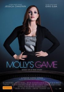 Win a Double Pass to See <em>Molly's Game</em>
