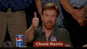Chuck Norris Spin-Kicks His Way to Supanova!
