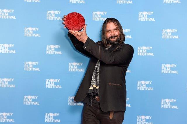 Warwick Thornton receives the Sydney UNESCO City of Film Award 2018 (17.06.18 ii)