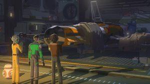 <em>Star Wars: Resistance</em> Gets an Anime-Looking Trailer