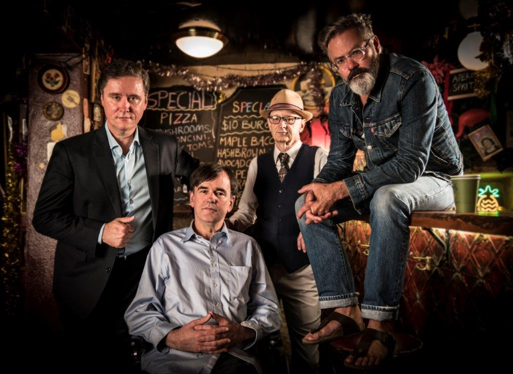 Richard Fidler, Paul Livingston, Paul McDermott and Tim Ferguson (front) credit Mark Rogers