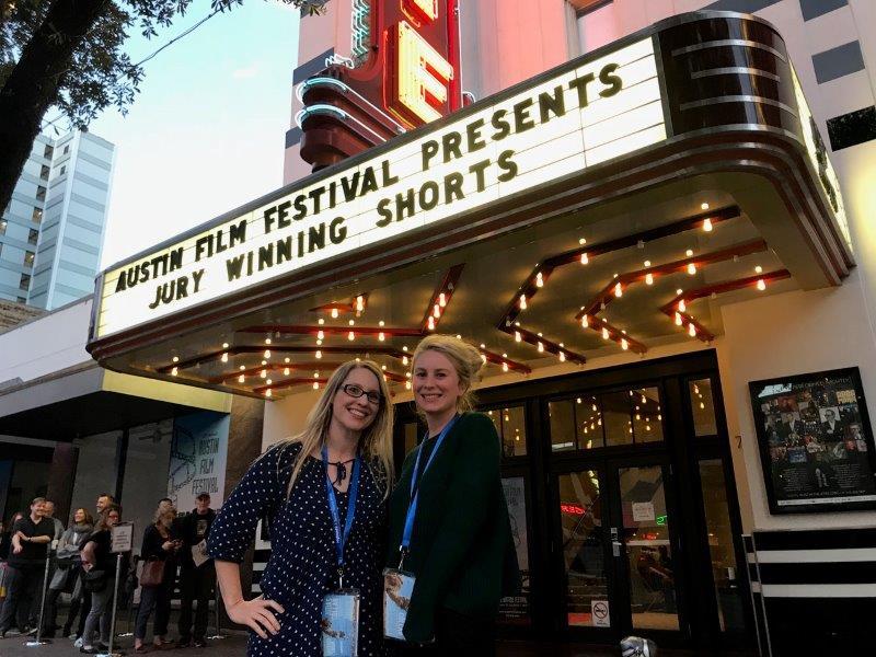 ALISON JAMES AND BROOKE TIA SILCOX AT AUSTIN FILM FESTIVAL 2018