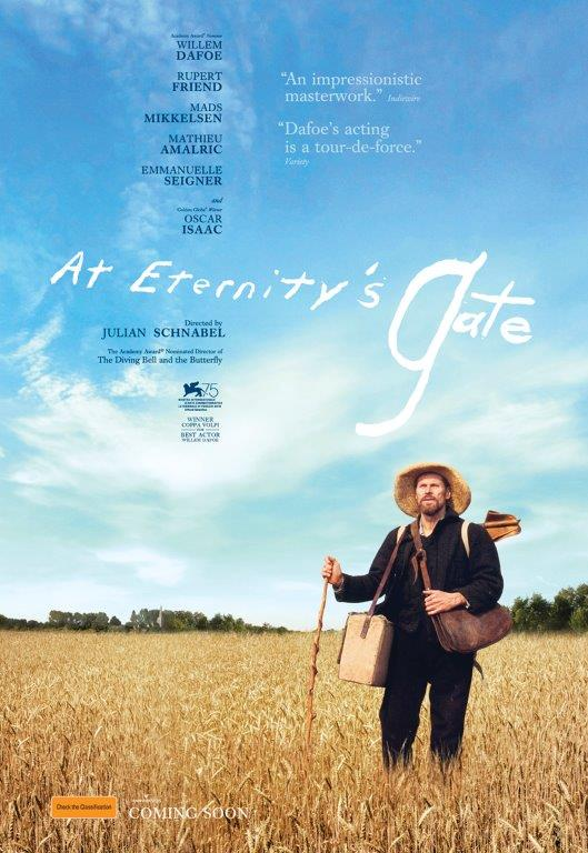 Movie of the Month: <i>At Eternity's Gate</i>