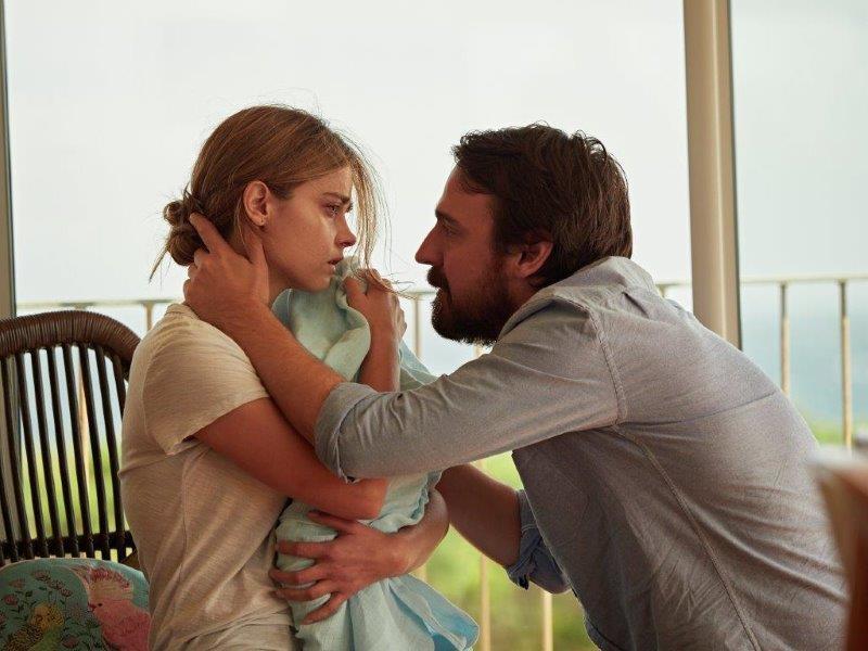 Joanna-Jenna-Coleman-baby-Noah-and-Alistair-Ewen-Leslie