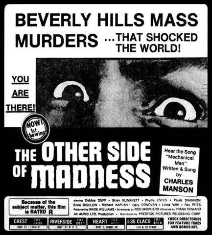 Once Upon a Time on Cielo Drive: Manson, Madness and Movies