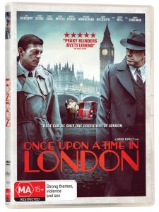 Win <i>Once Upon a Time in London</i> DVD
