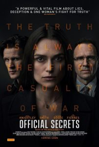 Win a double pass to <i>Official Secrets</i>