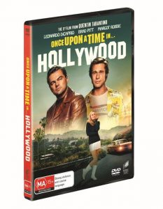 Win a <i>Once Upon a Time... in Hollywood</i> DVD
