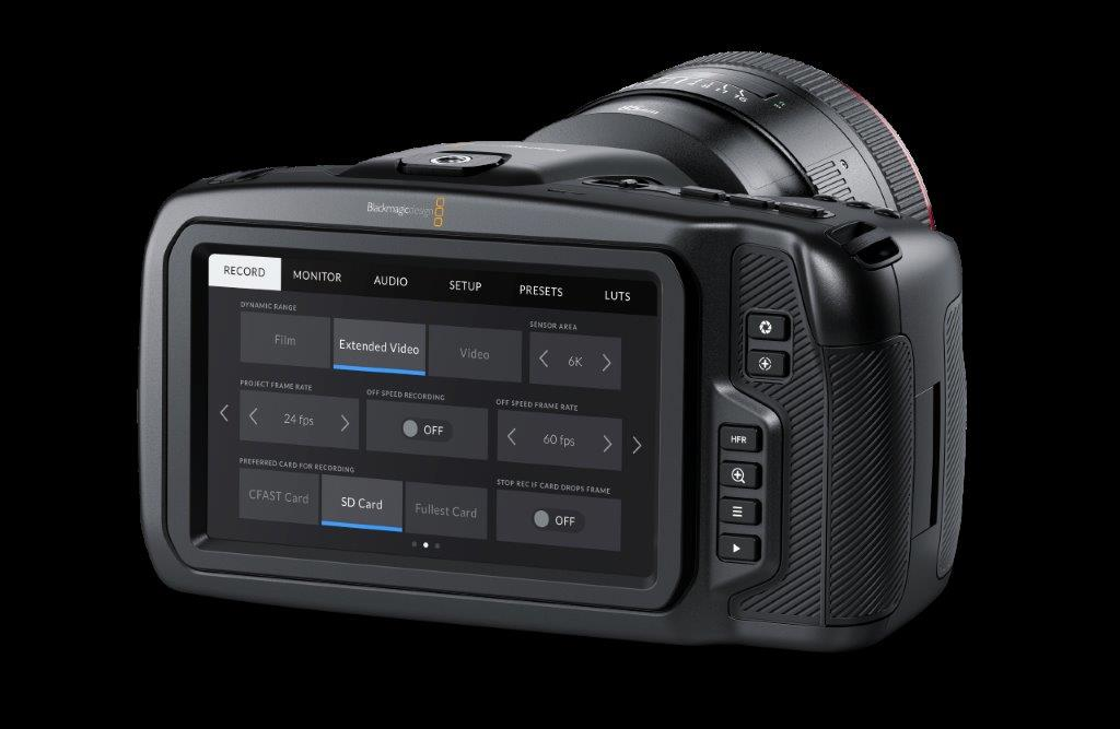 Blackmagic Design Announces Blackmagic Camera Update 6 9 Filmink