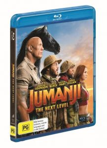 Win a <i>Jumanji: The Next Level</i> Blu-ray