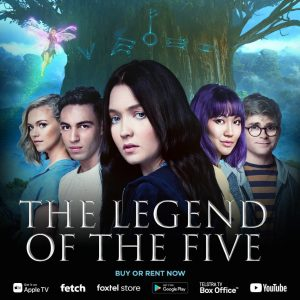 <i>The Legend of the Five</i>