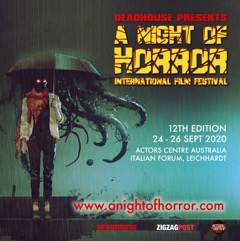 TICKETS FOR THE 12TH EDITION OF A NIGHT OF HORROR INTERNATIONAL FILM FESTIVAL ARE NOW ON SALE