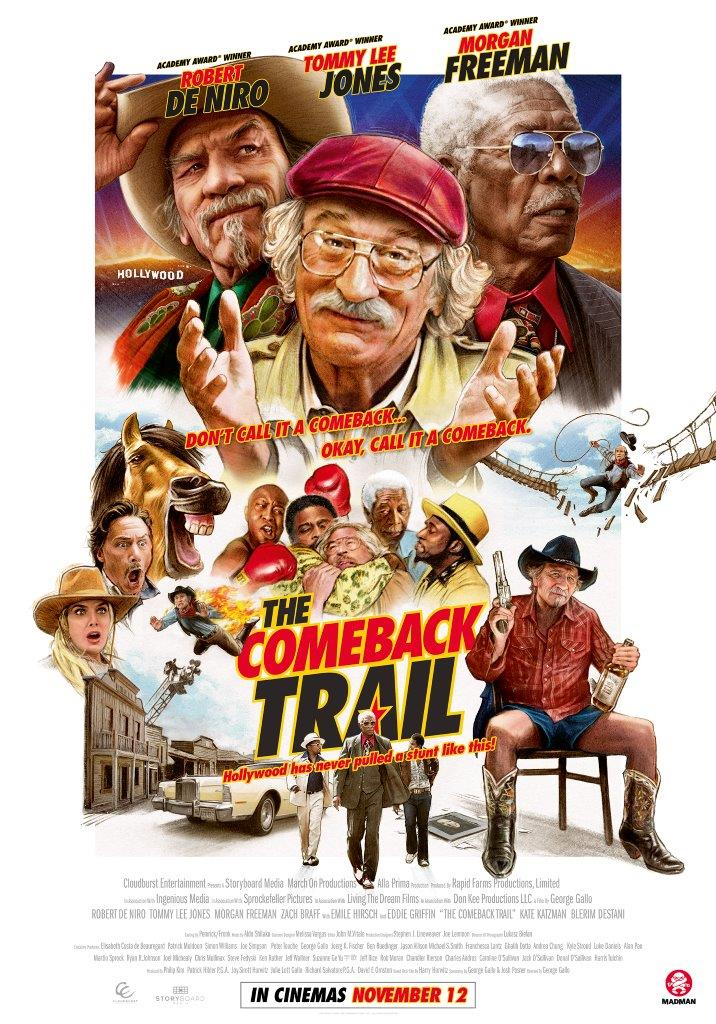 Movie Of The Month The Comeback Trail Filmink